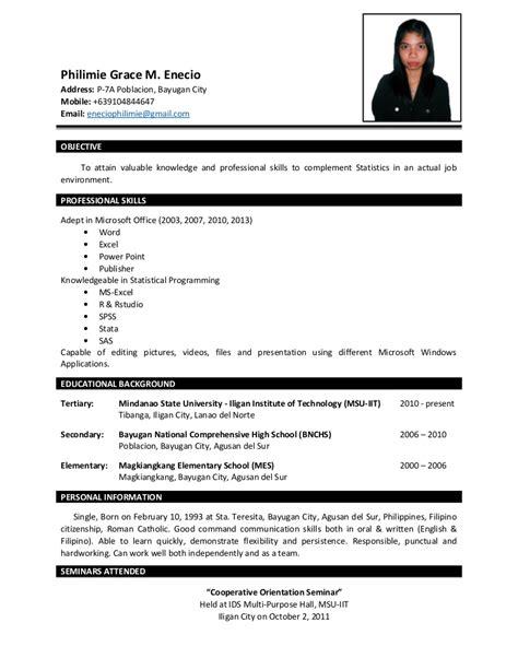 sle resume bsba graduate danaya us
