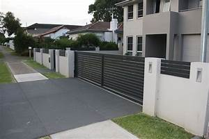 Letterboxes and lighting modular walls boundary