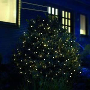 Weihnachtsbeleuchtung Außen Baum : led lichternetz 2x2 m warmwei au en ~ Orissabook.com Haus und Dekorationen