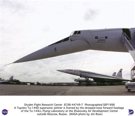 Tu-144ll Supersonic Transport Photo Collection Medium
