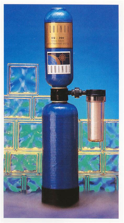 water filters  equinox genesis nos units