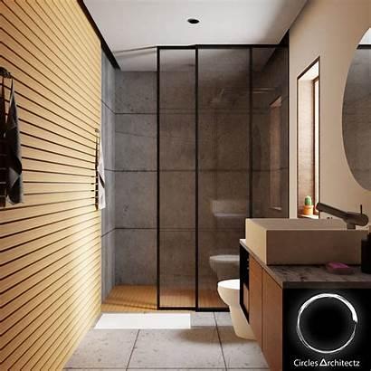 Bathroom Minimal Models Cgtrader Poly Low Interior