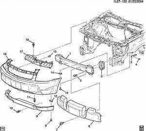 Chevrolet Equinox Support  Bumper  Fascia  Modelenlarge