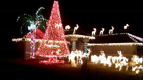 christmas lights in cape coral fl youtube