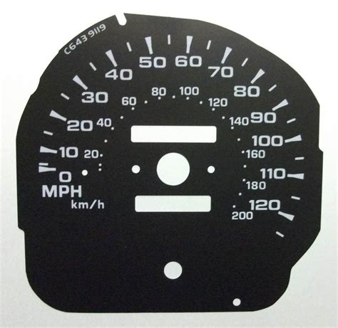 To Mph by Mitsubishi Pajero Kmh To Mph Speedo Meter Clocks Dials