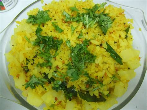 indian cuisine recipes with pictures aloo poha recipe indian food recipes