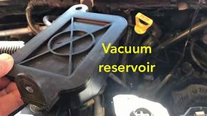 Ford Van Vacuum Reservoir Easy Fix