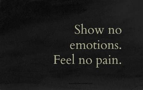 No Feelings by No Feelings Or Emotions Quotes Quotesgram