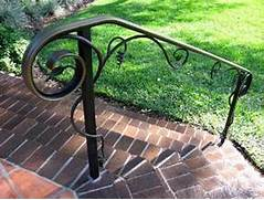 Outdoor Metal Handrails For Stairs by Outdoor Metal Stair Railing