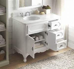 42, Inch, Bathroom, Vanity, Victorian, Vintage, Style, White, Color, 42, U0026quot, Wx21, U0026quot, Dx35, U0026quot, H, Cgd1509w42