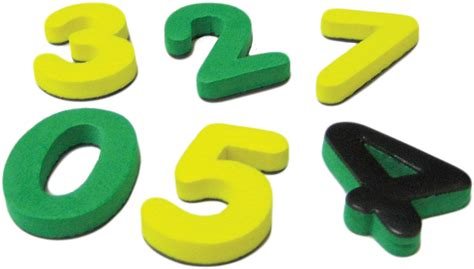 Magnetic Foam Small Numbers  Tcr20625  Teacher Created Resources