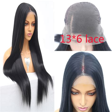 Bombsell 13x6 Inch Lace Synthetic Lace Front Wig Straight
