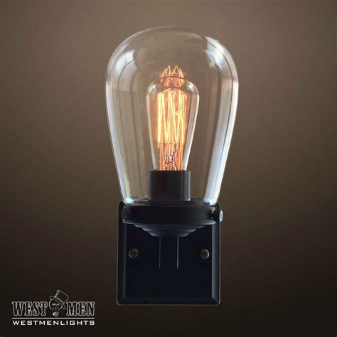 globe  light glear glass metal arm sconce westmenlights