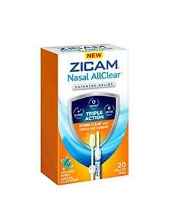 Zicam Nasal AllClear Triple Action Nasal Cleanser with ...