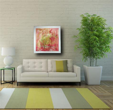 quadri con cornice quadro astratto con cornice 80x80 sauro bos