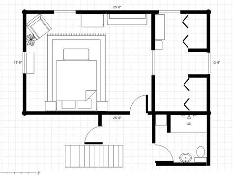 bathroom master bedroom dressing area  floor plan