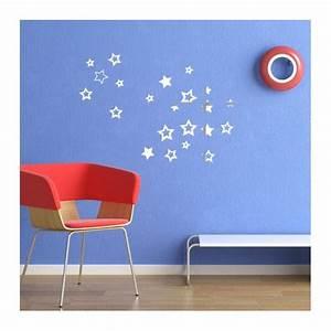Stickers Effet Miroir : stickers toiles effet miroir d coration murale brillante ~ Teatrodelosmanantiales.com Idées de Décoration