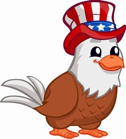 Eagle Patriotic Clip Clipart Patriot Transparent Birds