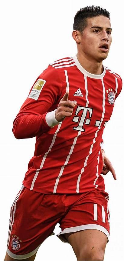 Rodriguez James Render Football Footyrenders Bayern