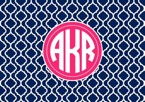 Monogram Background Personalised Monogram Wallpaper Allaboutthehouse Printables