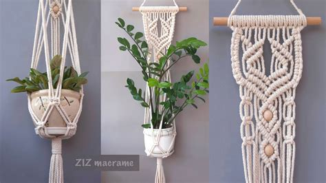 macrame plant hanger beautiful macrame wall