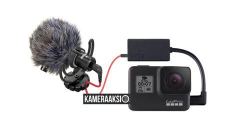 pakai mic eksternal kamera gopro hero