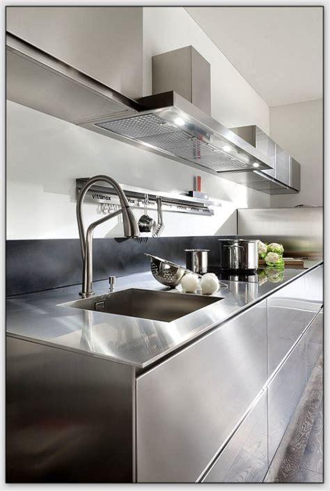 plan de travail en inox pour cuisine quel matériau choisir pour plan de travail de cuisine