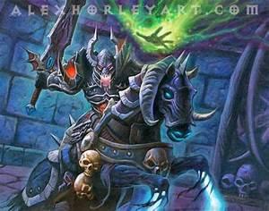 Hearthstone Card Artwork for The Black Knight - Alex ...