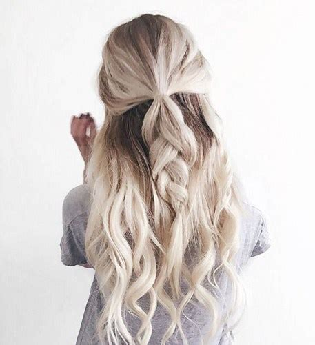 Braids Inspiration Tumblr Pinterest Hairstyle Messy Hair