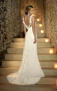 25 beautiful beach wedding dresses With wedding dress back