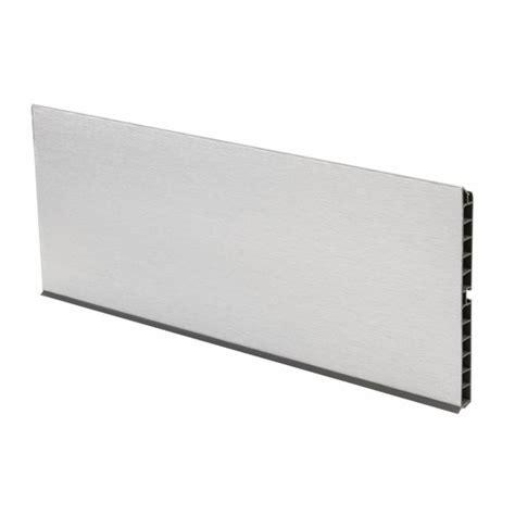 plinthe aluminium cuisine plinthes de cuisine en aluminium massif bricozor