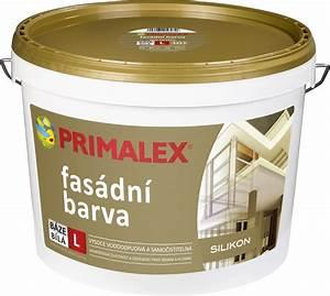 Silikonová fasádní barva primalex cena