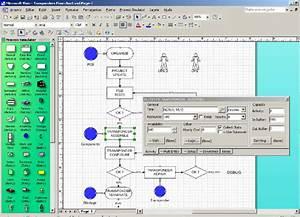 Microsoft Visio U00ae Screen For The Simulation Properties