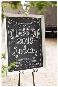 Congrats Grad Poster Custom Graduation Chalkboard Sign For Senior Portraits
