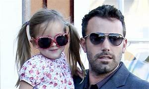 Ben Affleck and Seraphina don his and hers sunglasses to ...