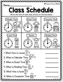differentiated  grade telling time worksheets  bite