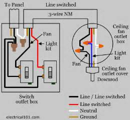 wiring a ceiling fan with two switches 2 way fan wiring diagrams