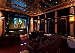 Home Cinema Room : 15 000 square foot lakefront mansion in naples fl homes of the rich the 1 real estate blog ~ Markanthonyermac.com Haus und Dekorationen