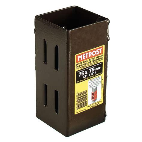metpost wedge steel post extender wmm dmm