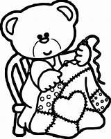 Bear Coloring Orso Disegno Bambini Olphreunion Printable Teddy Dari Artikel sketch template
