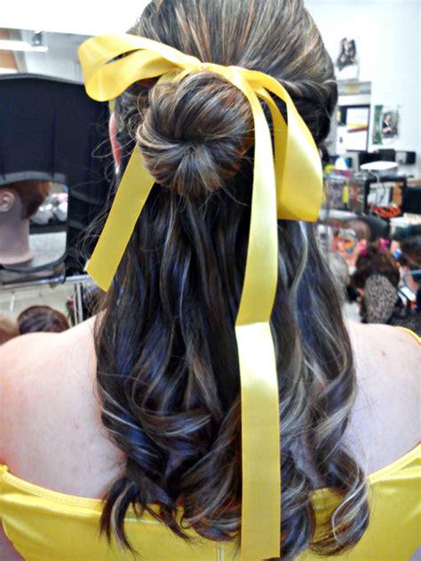 beauty   beast belles hair