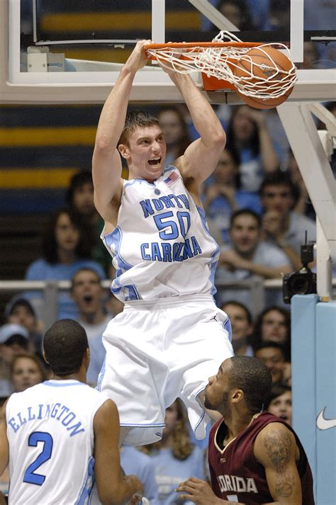 Tyler Hansbrough North Carolina Tar Heels