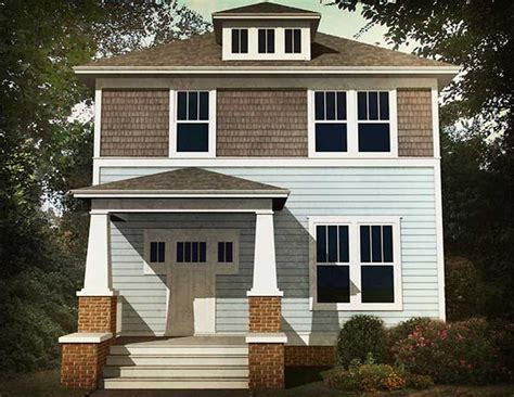 classic  bed  square house plan ph architectural designs house plans