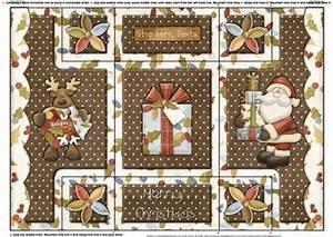 Believe in Santa Tri Fold Shutter Card CUP 376