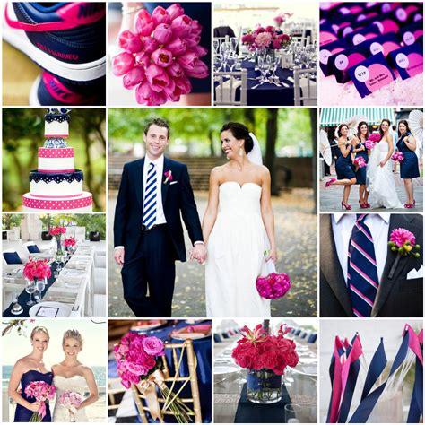 pink navy the blushing bride