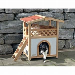 Maison Pour Chat Extérieur : maisonnette tyrol alpin niche maison pour chat kerbl ~ Premium-room.com Idées de Décoration