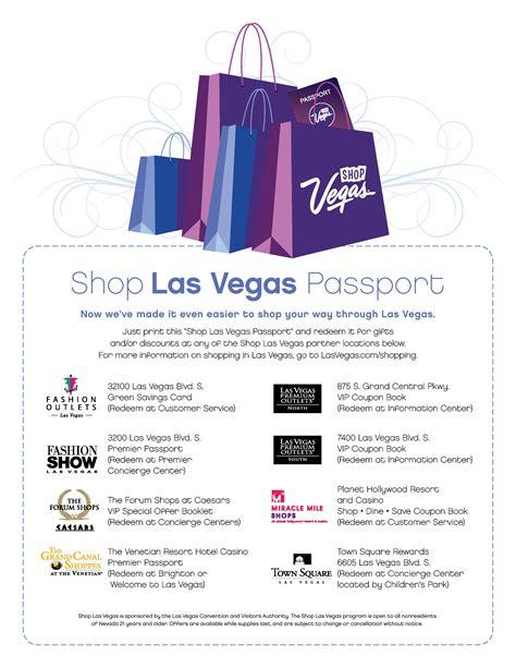 Vegas Shopping Coupons Just Vegas Deals