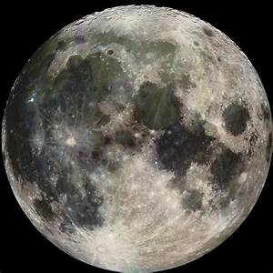Moon Images Galileo Full Color