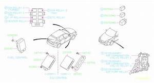 Subaru Impreza Relay  Electrical  Engine  Body