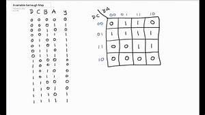 Karnaugh Map Tutorial 4 Variable